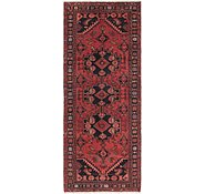 Link to HandKnotted 3' 8 x 9' 4 Zanjan Persian Runner Rug