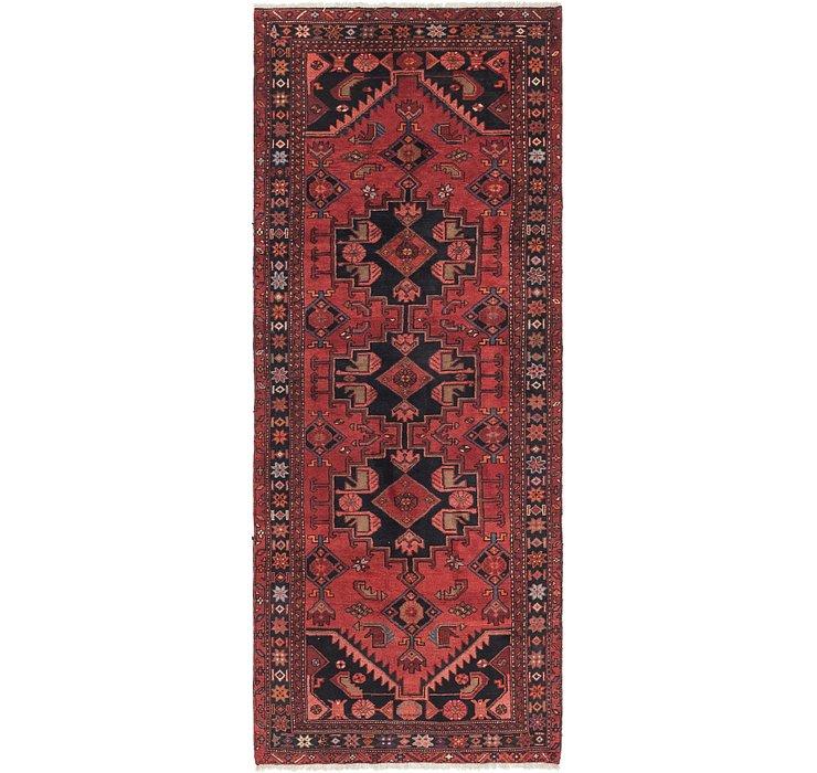 3' 8 x 9' 4 Zanjan Persian Runner Rug