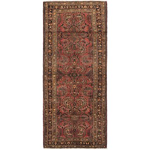 HandKnotted 4' 3 x 10' 4 Mehraban Persian Runner...