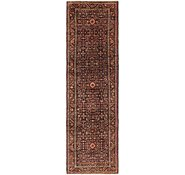 Link to 110cm x 400cm Hossainabad Persian Runner Rug