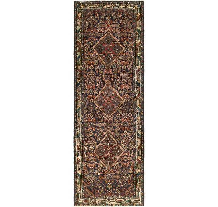 3' 6 x 10' Darjazin Persian Runner...