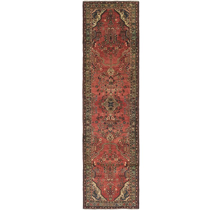 HandKnotted 3' 9 x 13' 5 Liliyan Persian Runner ...