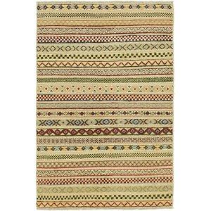 Unique Loom 2' 8 x 4' 2 Modern Ziegler Oriental...