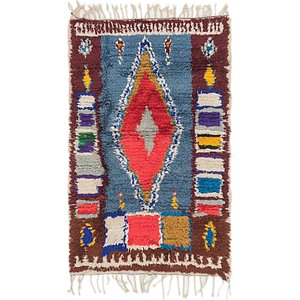 Unique Loom 2' 10 x 4' 5 Moroccan Rug