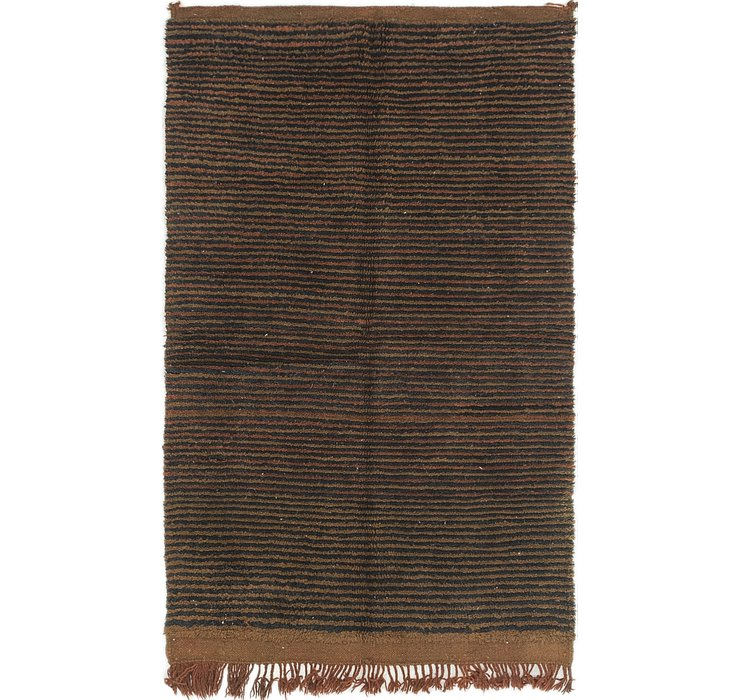 3' 10 x 6' 2 Moroccan Rug