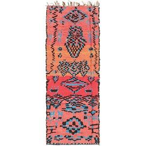 2' 9 x 7' 2 Moroccan Runner Rug