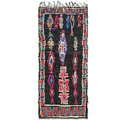 Link to 3' 9 x 8' 9 Moroccan Runner Rug