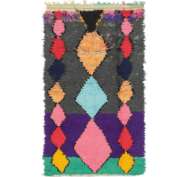 3' 4 x 6' Moroccan Rug