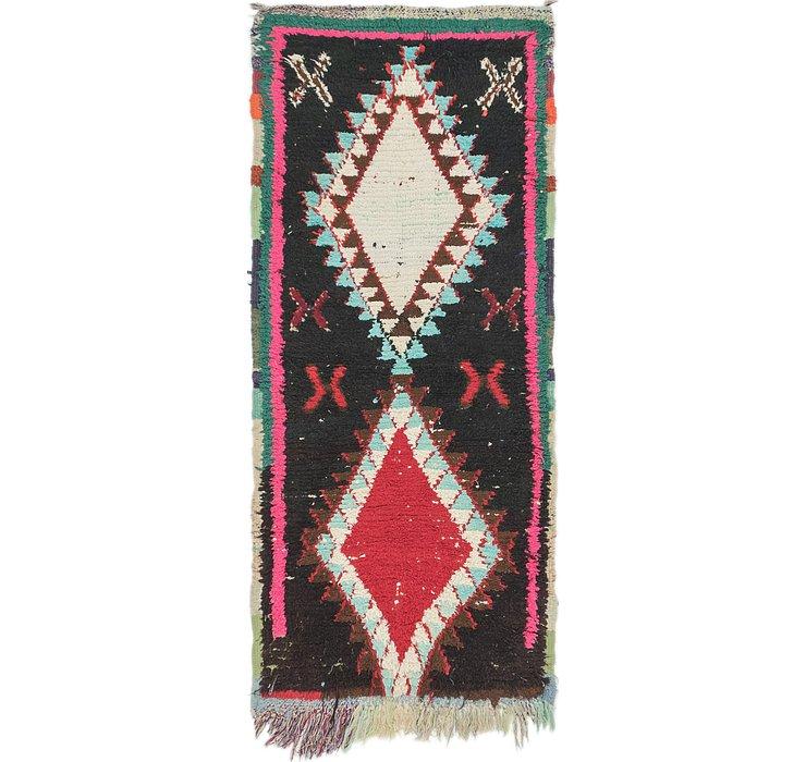 2' 10 x 6' 5 Moroccan Runner Rug