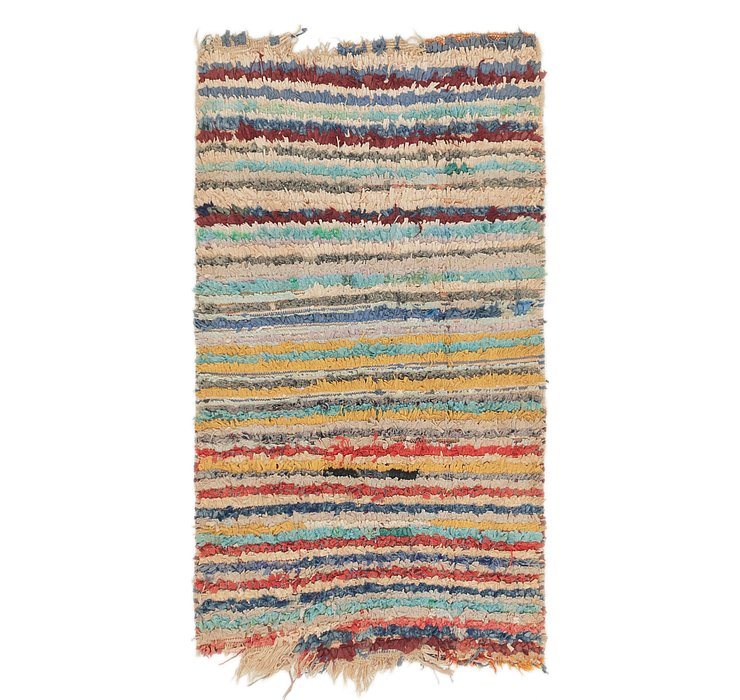 3' 2 x 5' 7 Moroccan Rug