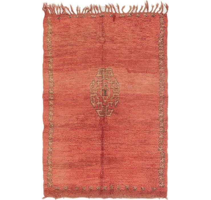 HandKnotted 3' 8 x 5' 4 Moroccan Rug
