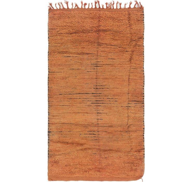 3' 4 x 5' 10 Moroccan Rug