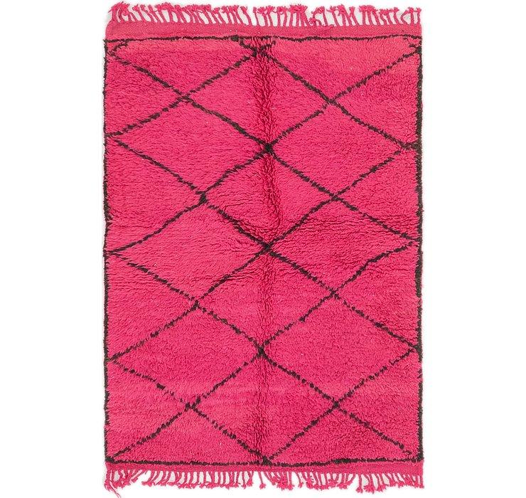 3' 3 x 4' 9 Moroccan Rug