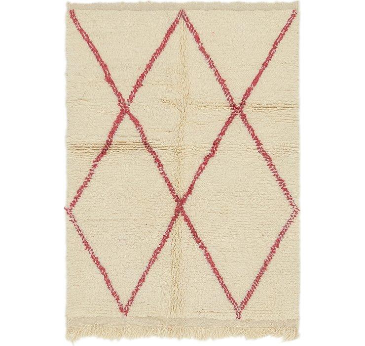 3' 4 x 4' 7 Moroccan Rug