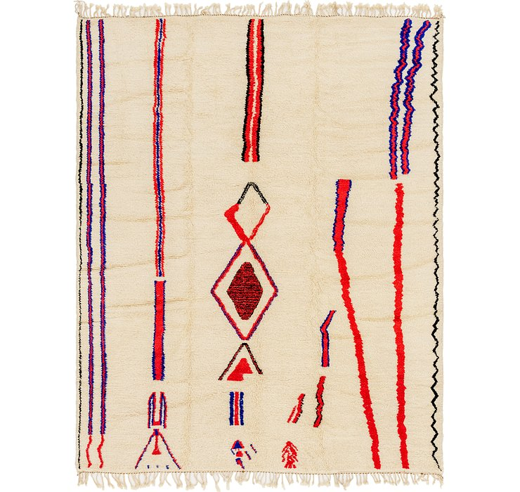 9' 4 x 11' 9 Moroccan Rug