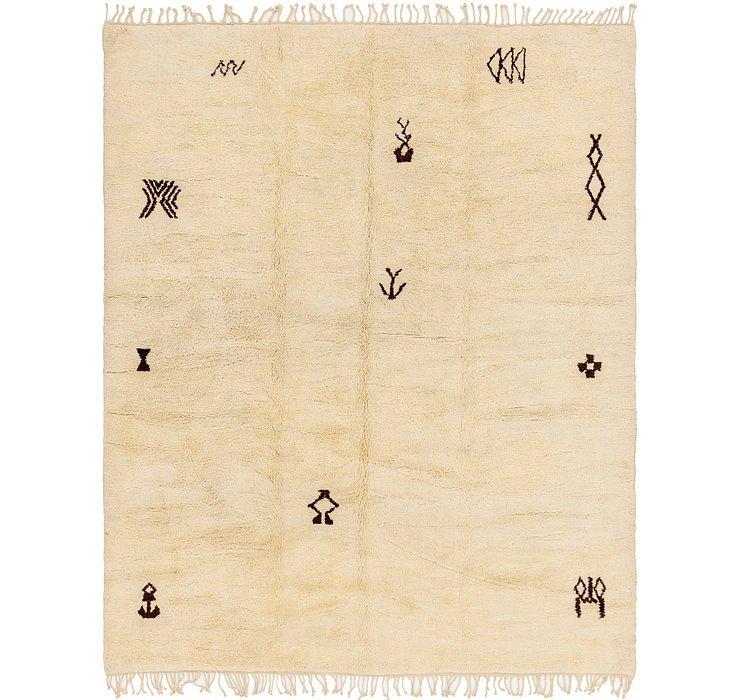 10' x 12' 4 Moroccan Rug