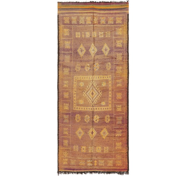 HandKnotted 6' 3 x 15' 3 Moroccan Runner Rug