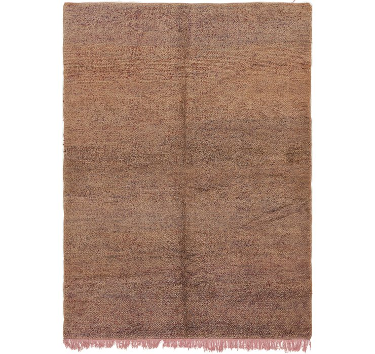 HandKnotted 7' 2 x 9' 10 Moroccan Rug