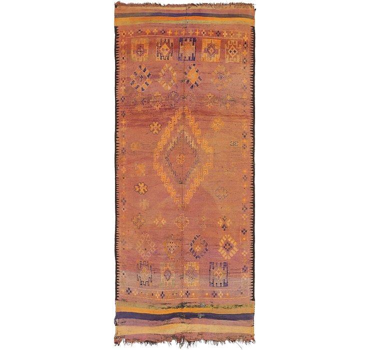 6' x 14' 8 Moroccan Runner Rug