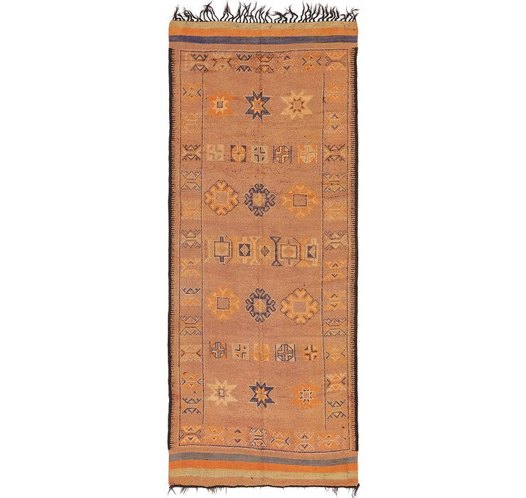 6' 3 x 15' 5 Moroccan Runner Rug