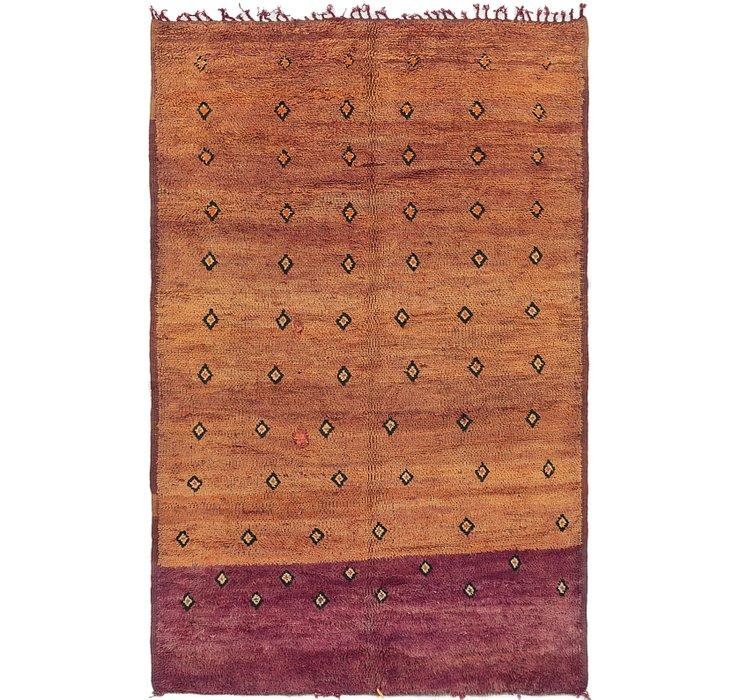 6' x 9' 2 Moroccan Rug