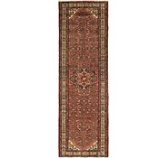 Link to 105cm x 328cm Hossainabad Persian Runner Rug