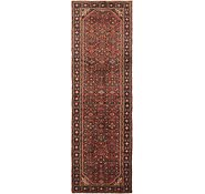 Link to 112cm x 345cm Hossainabad Persian Runner Rug