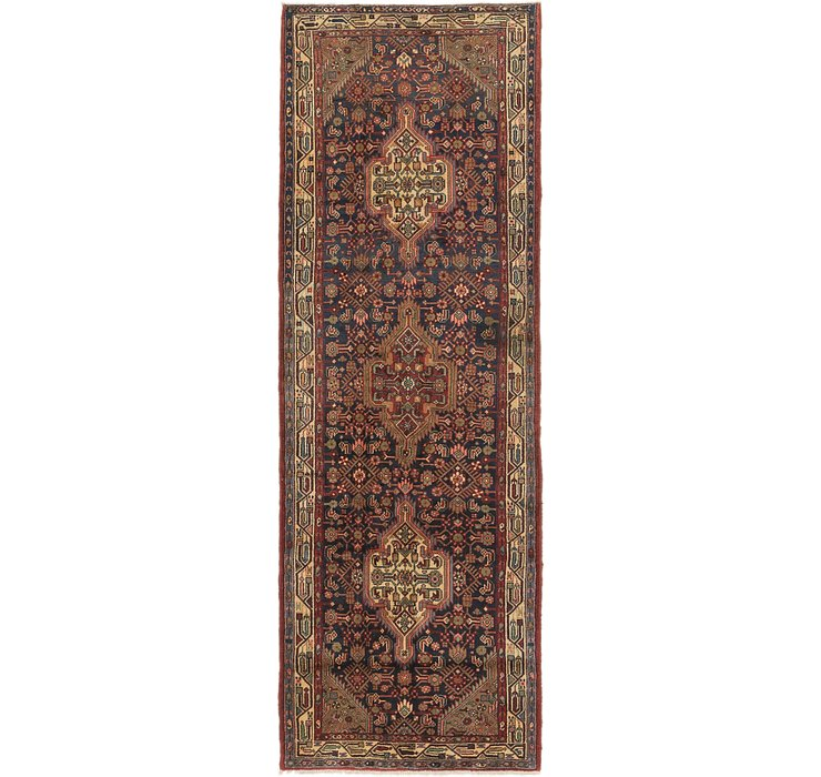 3' 9 x 11' Darjazin Persian Runner...