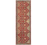 Link to 3' 6 x 10' Tabriz Persian Runner Rug