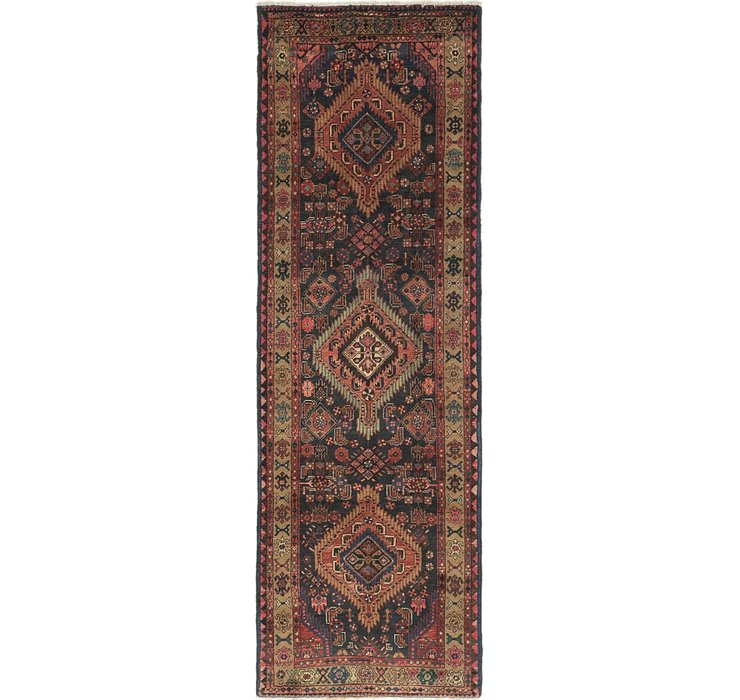 3' 5 x 10' 2 Darjazin Persian Runner...