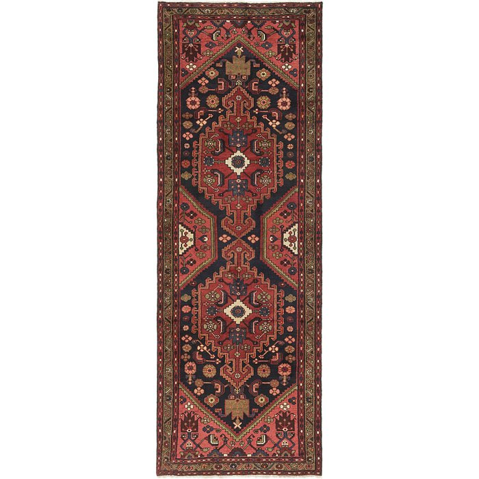 3' 7 x 10' Hamedan Persian Runner ...