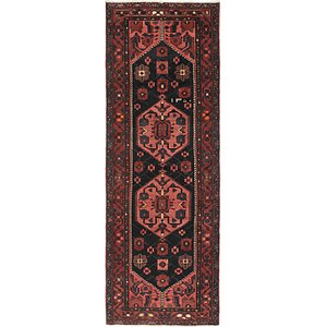 Link to 3' 7 x 9' 10 Hamedan Persian Runner ... item page