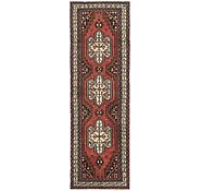 Link to 3' 3 x 10' Mazlaghan Persian Runner Rug