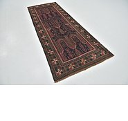 Link to 3' 7 x 8' 10 Shiraz Persian Runner Rug