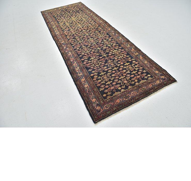 HandKnotted 3' 8 x 9' 10 Shahsavand Persian Runn...
