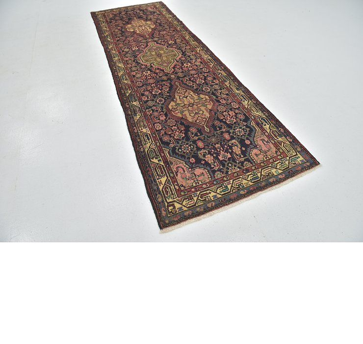 3' 6 x 10' 7 Darjazin Persian Runner...