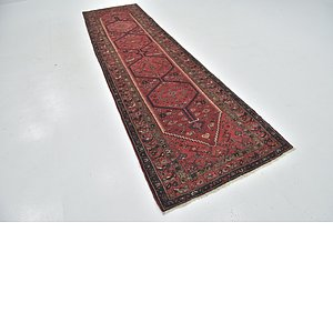 Link to 3' 5 x 13' Zanjan Persian Runner Rug item page