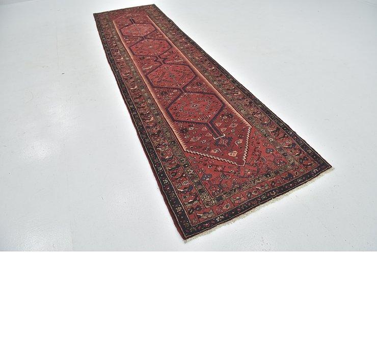 HandKnotted 3' 5 x 13' Zanjan Persian Runner Rug