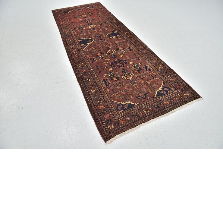 110cm x 295cm Zanjan Persian Runner Rug