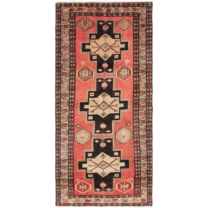 4' 6 x 10' Gholtogh Persian Runner...