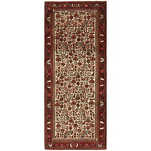 3' 9 x 9' 5 Roodbar Persian Runner ...
