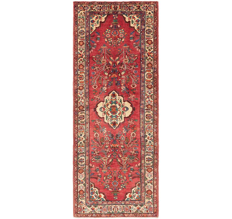 3' 10 x 10' 7 Borchelu Persian Runner...