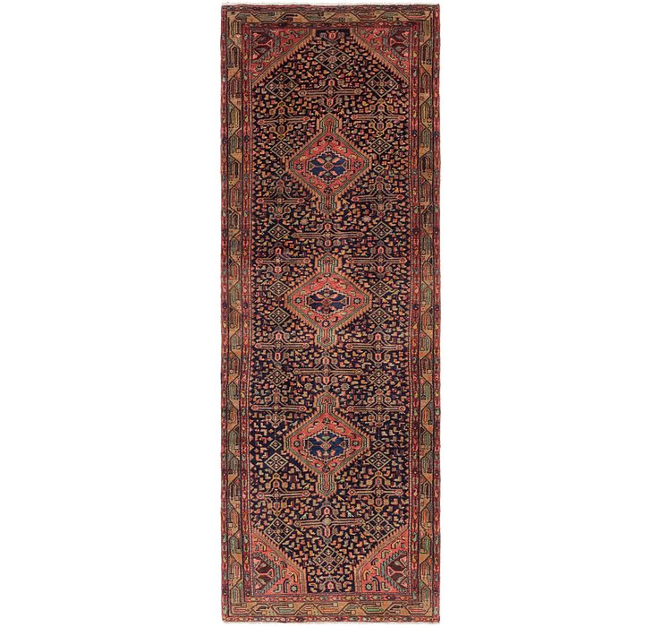 3' 6 x 10' 4 Darjazin Persian Runner...