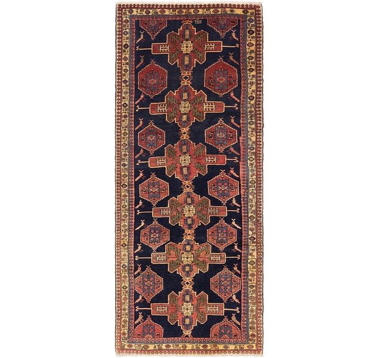 3' 8 x 9' 6 Shahsavand Persian Runn...