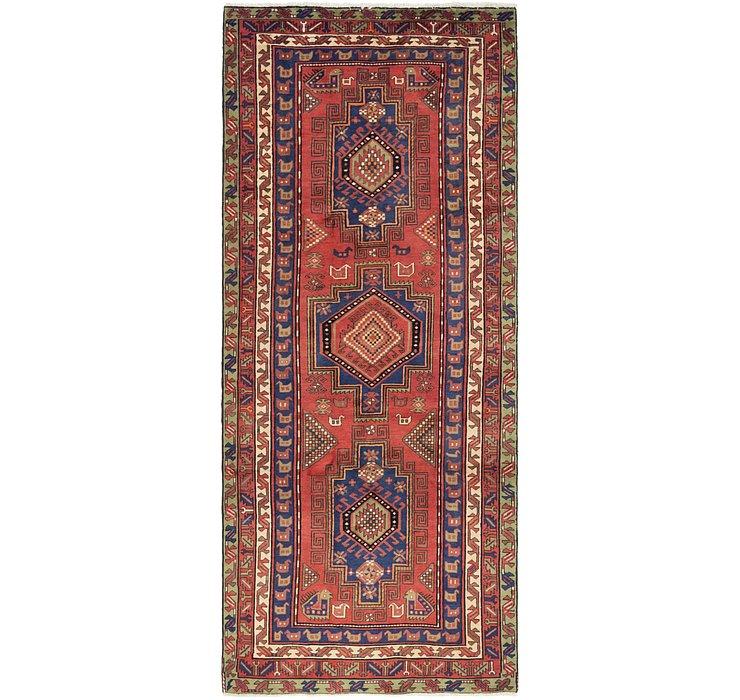 4' 8 x 11' 3 Zanjan Persian Runner Rug
