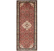 Link to 4' 8 x 12' Hossainabad Persian Runner Rug
