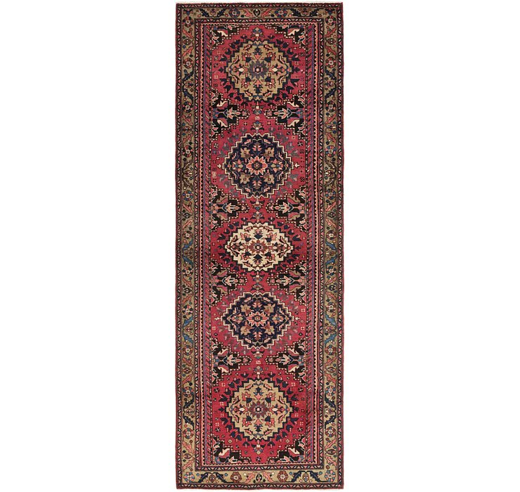 3' 8 x 11' Gholtogh Persian Runner...