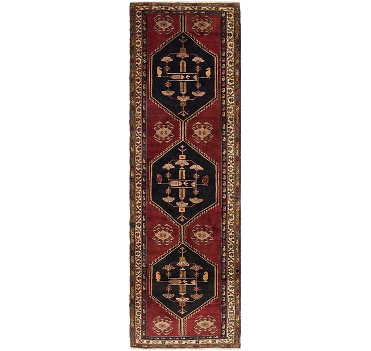 4' 2 x 14' Gholtogh Persian Runner...