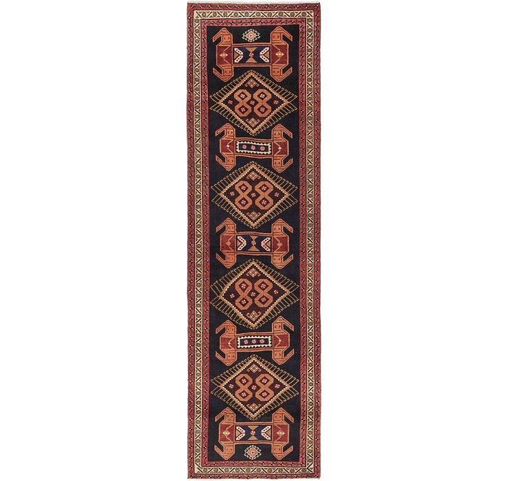 3' 8 x 13' Shahsavand Persian Runn...