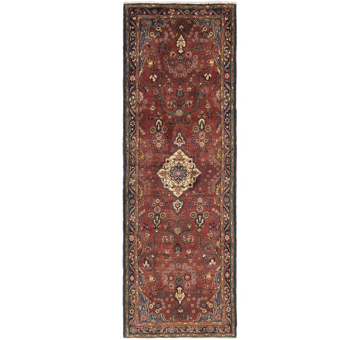 3' 6 x 10' 6 Hamedan Persian Runner ...
